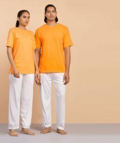Orange Short Sleeve Sadhana Shirt - Unisex