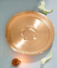 Copper Pot Plate - Big