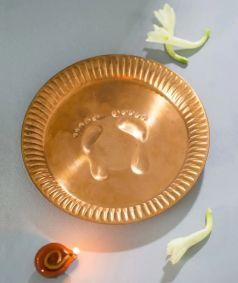 Copper Pot Plate - Small